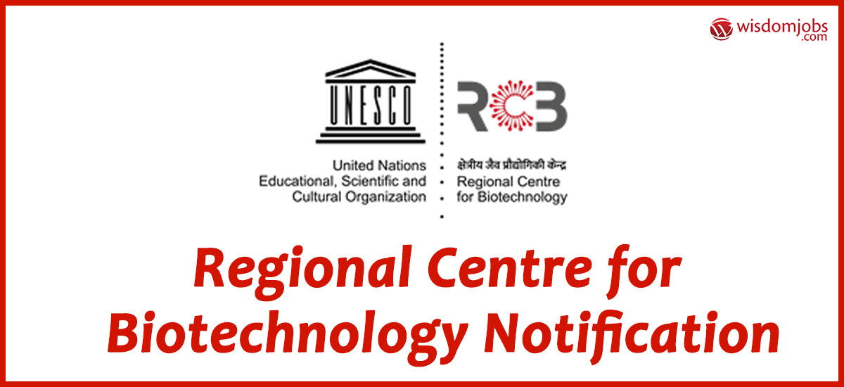 RCB Faridabad Recruitment Walk in for Project-JRF Post