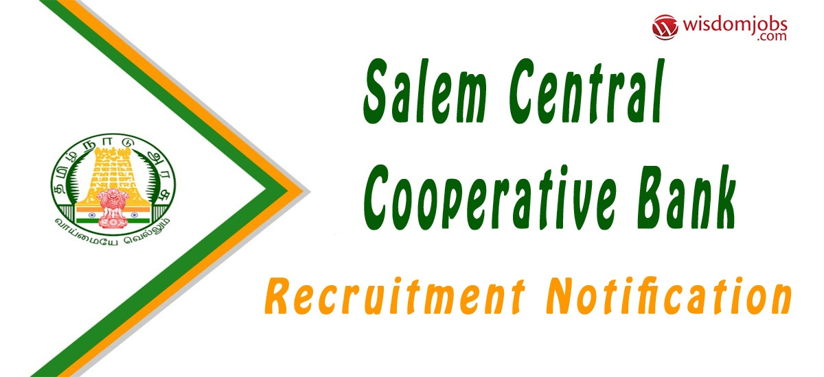 Salem Central Cooperative Bank Notification 2019 – Opening