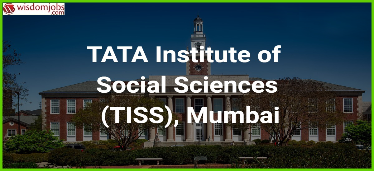 TISS Recruitment - Project Assistant Post