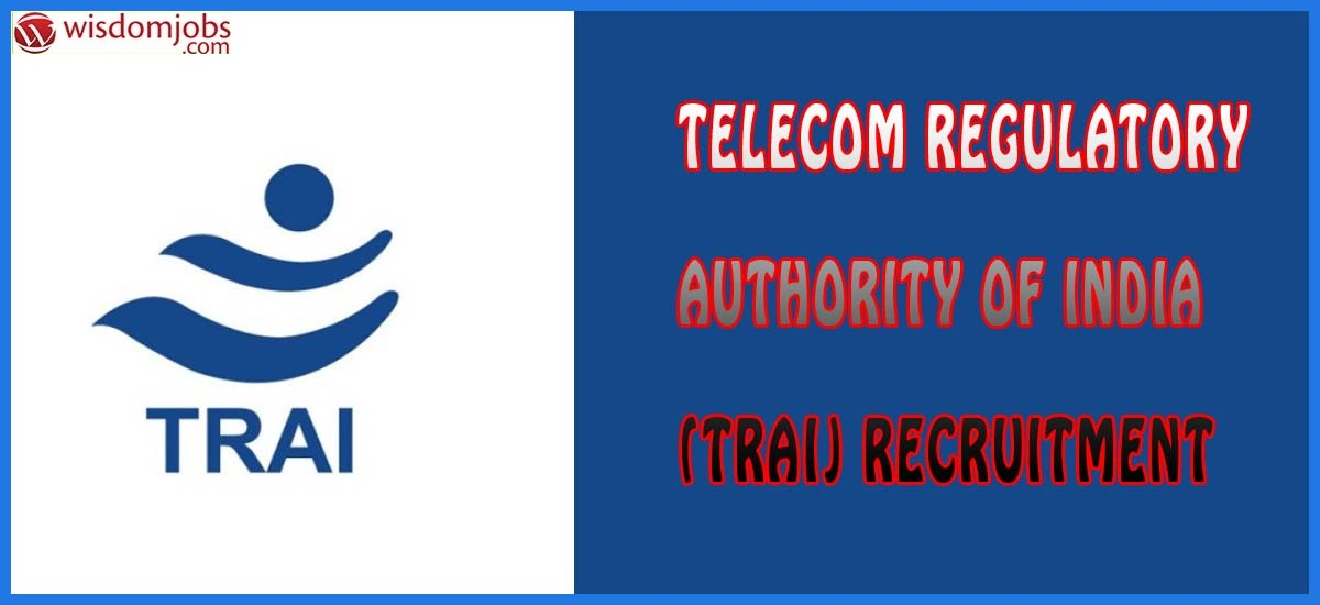 TRAI Recruitment -  Joint Advisor Post