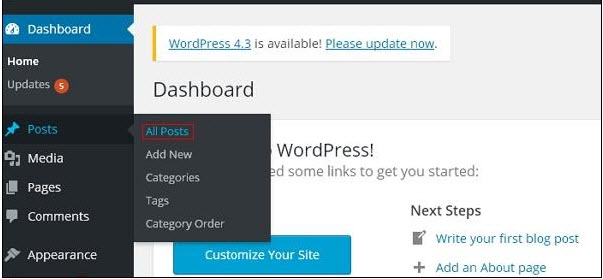 wordpress-preview-posts-step1